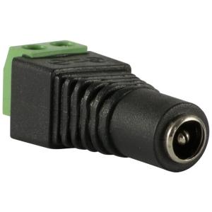 Conector Plug de Alimentacion de 2.1mm hembra a 12V DC