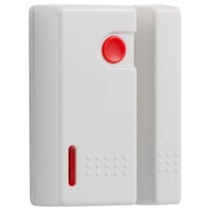 Contacto magnetico inalambrico para puertas, con boton de panico.