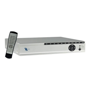 Video grabador digital DVR 4 entradas y 2 salidas de video, D1, HD1, CIF, No necesita DynDNS