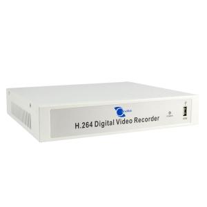 DVR de 4 Canales, H.264, VGA/BNC/HDMI, Audio 4 entrada/1 salida D1/CIF