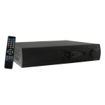 Video grabador digital DVR 8 video /8 audio, D1, HD1, CIF, Compresion H264. Incluye control remoto.