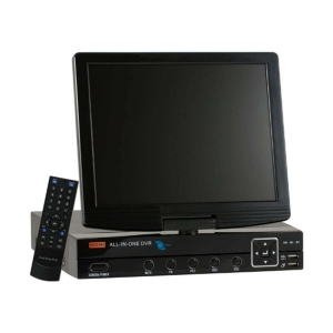 Video grabador digital DVR 8 video (resolucion D1)/2 audio, monitoreo por celular, con pantalla LCD 10.5