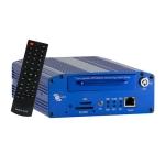 Video grabador digital para carro, 4 canales, D1, GPS, Sensor G, Soporte 3g, Sistema de proteccion