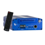 Video grabador digital para carro, 4 canales, D1, GPS, Sensor G, Sistema de proteccion de data