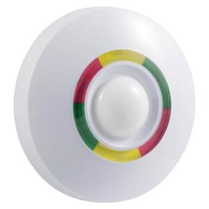 Detector de movimiento IR/MW inalambrico, 360 grados, para interiores.