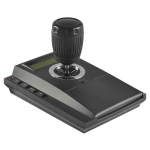 Control joystick para camaras PTZ, soporta hasta 31 camaras , color negro