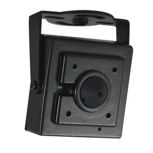 Mini camara para interiores, sensor 1/4, 480TVL, lente Pinhole, AGC