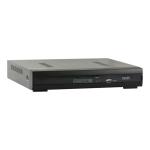 Video grabador en red NVR 4 canales de video/audio, resolucion 1080p, monitoreo por celular, WI-FI