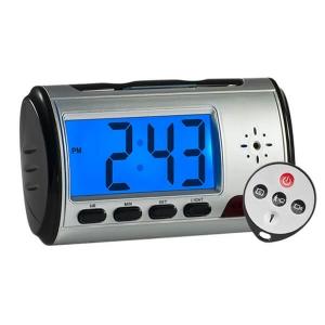 Reloj despertador con camara oculta, capacidad max 32gb