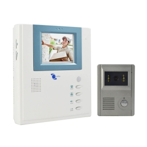 Video portero, pantalla LCD 4in, Sensor CMOS 1/3, resolucion 420TVL